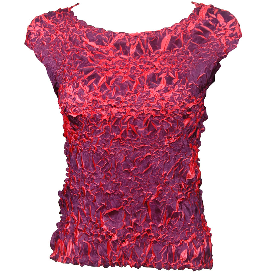 Wholesale Origami - Sleeveless Purple - Coral - One Size (S-XL)