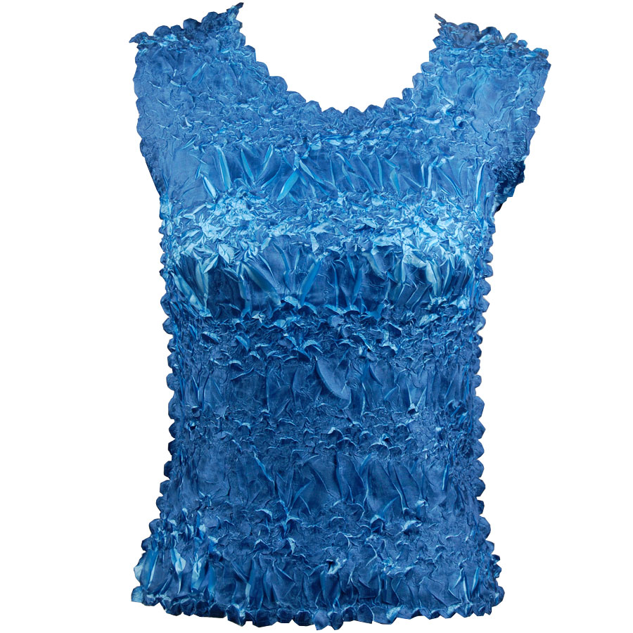 Wholesale Origami - Sleeveless Denim - Light Blue - One Size (S-XL)