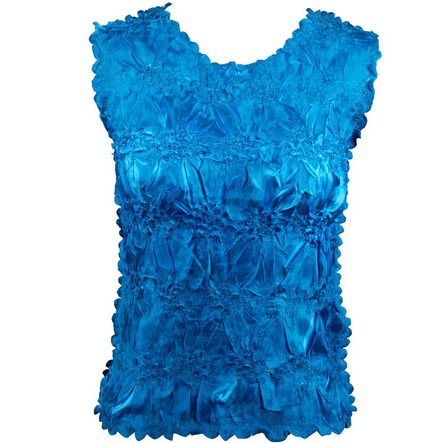 Wholesale Origami - Sleeveless Dark Teal - Turquoise - One Size (S-XL)