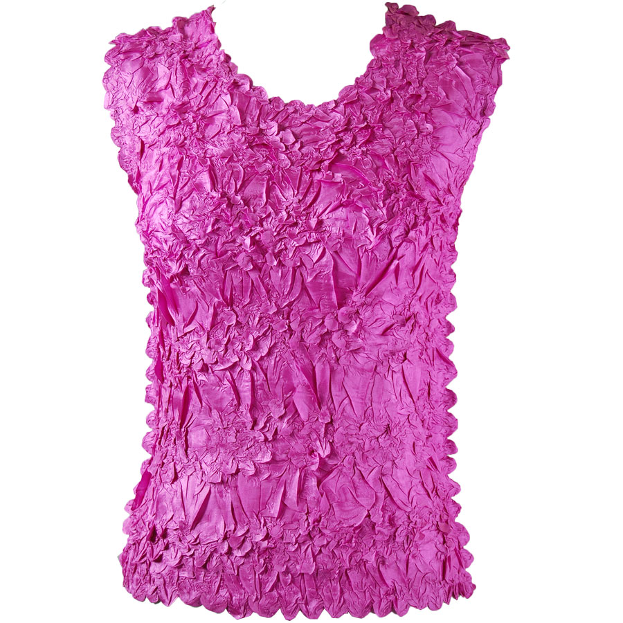Wholesale Origami - Sleeveless Solid Orchid - Queen Size Fits (XL-3X)