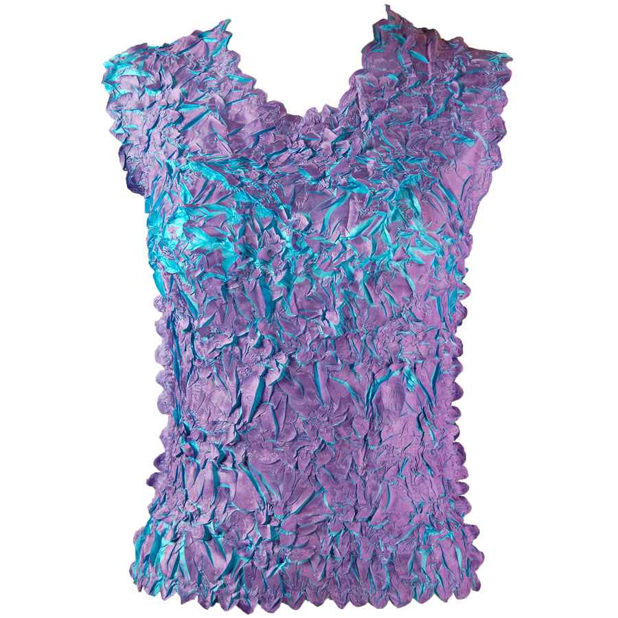 Wholesale Origami - Sleeveless Orchid - Aqua - Queen Size Fits (XL-3X)