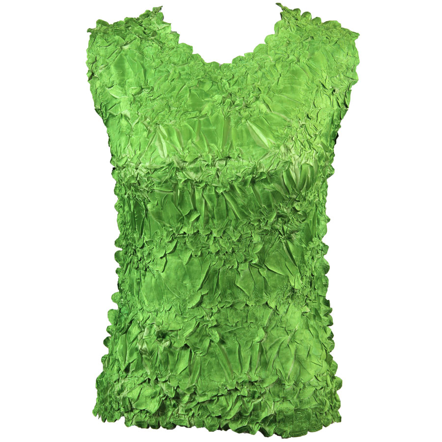Wholesale Origami - Sleeveless Green Apple - Light Green - One Size (S-XL)