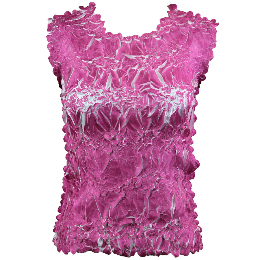 Wholesale Origami - Sleeveless Orchid - White - One Size (S-XL)