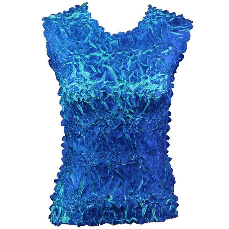 Wholesale Origami - Sleeveless Royal - Light Turquoise - One Size (S-XL)
