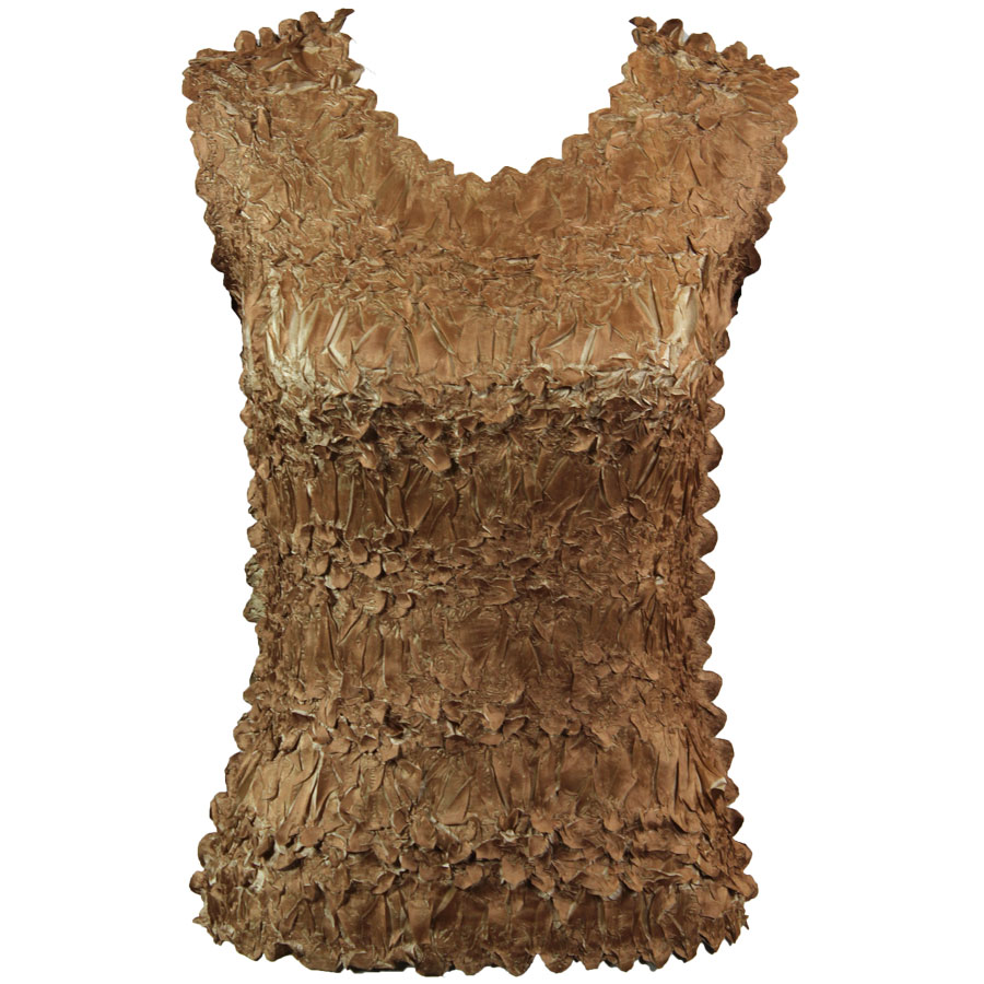 Wholesale Origami - Sleeveless Gold - Champagne - One Size (S-XL)