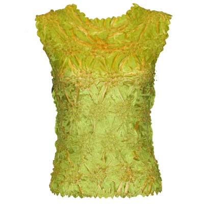 Wholesale Origami - Sleeveless Green Apple - Gold - One Size (S-XL)