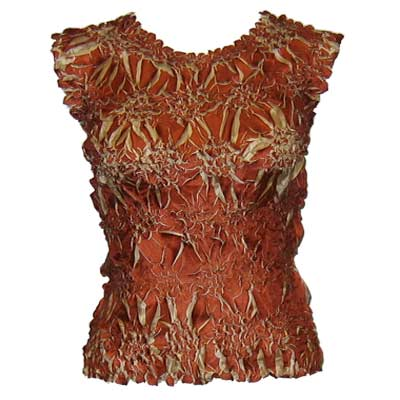 Wholesale Origami - Sleeveless Paprika - Sand - One Size (S-XL)