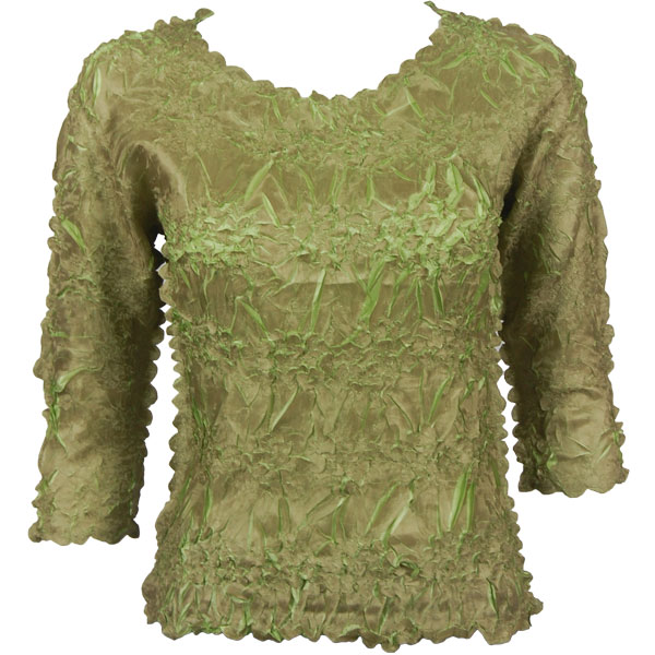 Wholesale Origami - Three Quarter Sleeve Leaf Green - Lime - One Size (S-XL)