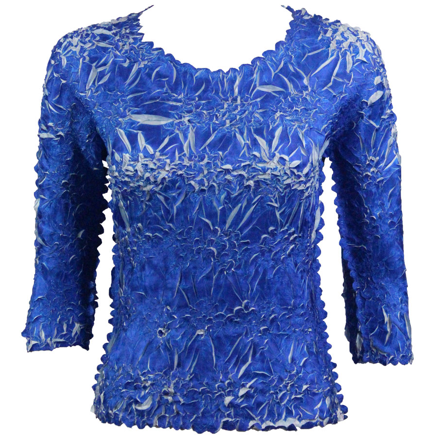 Wholesale Origami - Three Quarter Sleeve Royal - Platinum - One Size (S-XL)