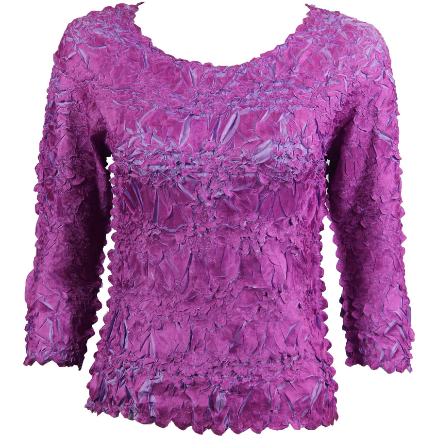 Wholesale Origami - Three Quarter Sleeve Orchid - Light Orchid - One Size (S-XL)
