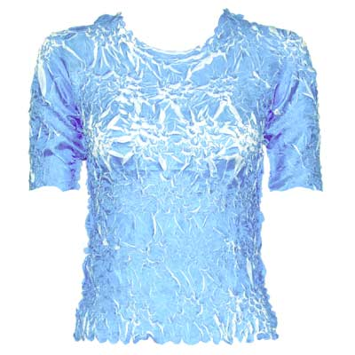 Wholesale Origami - Short Sleeve Sky Blue - White - One Size (S-XL)