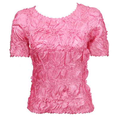 Wholesale Origami - Short Sleeve Solid Bubblegum - One Size (S-XL)