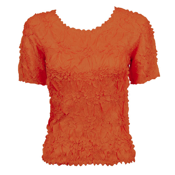 Wholesale Origami - Short Sleeve Solid Paprika - One Size (S-XL)