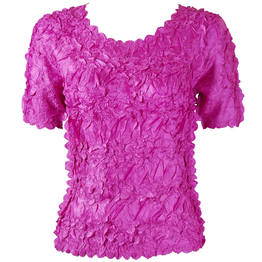 Wholesale Origami - Short Sleeve Solid Orchid - One Size (S-XL)