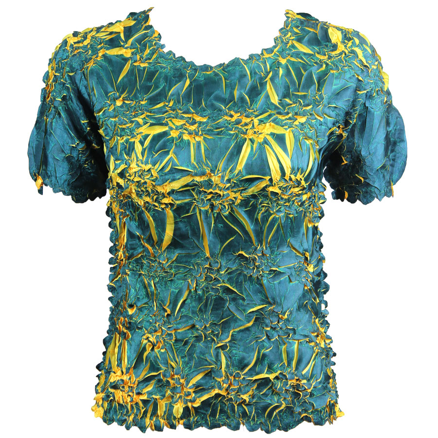Wholesale Origami - Short Sleeve Royal - Yellow - One Size (S-XL)