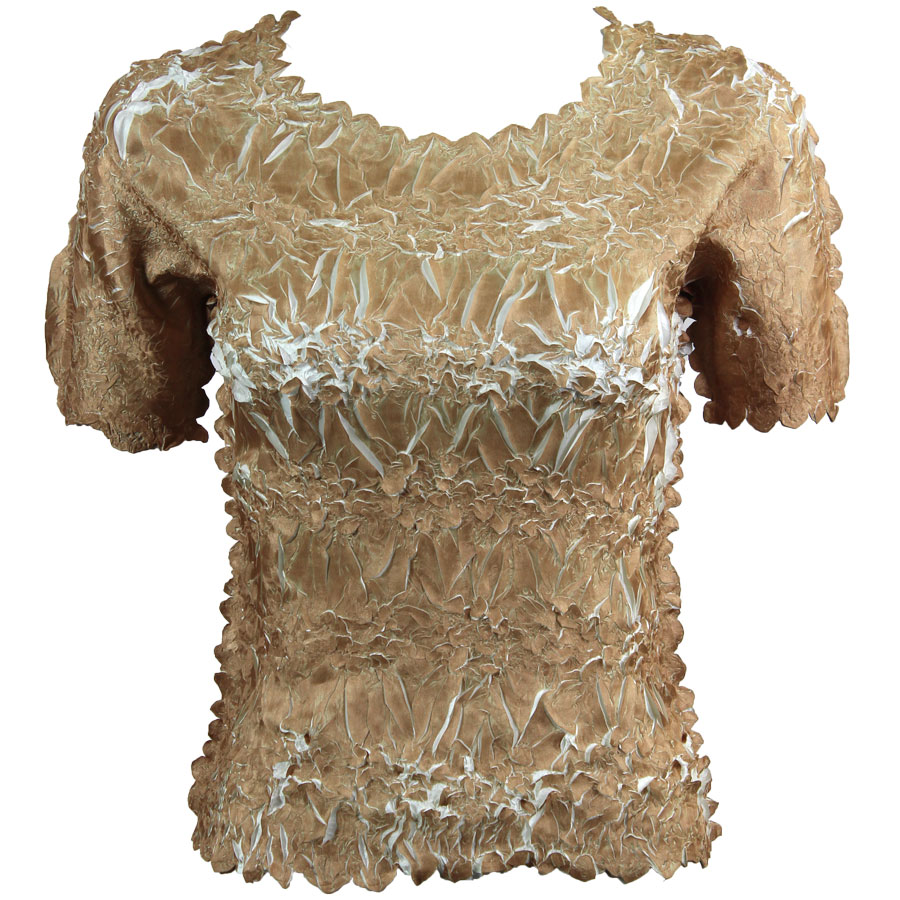 Wholesale Origami - Short Sleeve Champagne - Ivory - One Size (S-XL)