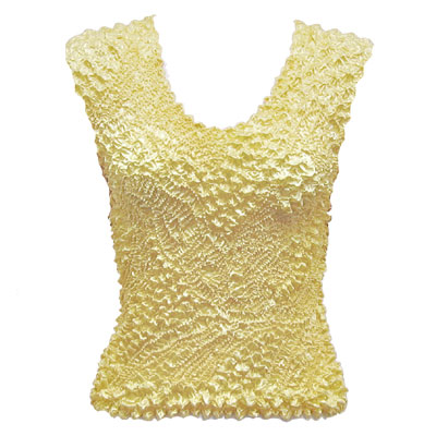 Wholesale Pinpoint Popcorn - Sleeveless Vanilla - One Size (S-XL)