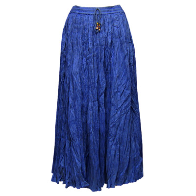 Skirts - Long Cotton Broomstick with Pocket 503