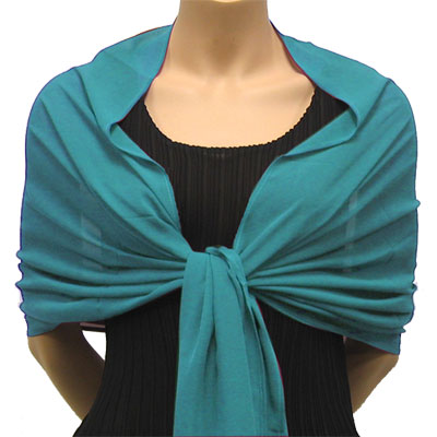 Wholesale Georgette Wraps* Solid Aqua -