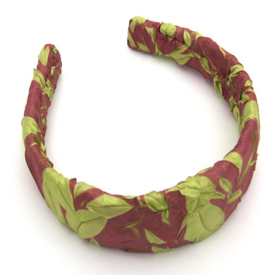 Wholesale Origami Headbands*  Dusty Rose-Spring Green -