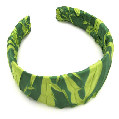 Wholesale Origami Headbands*  Emerald-Lime -