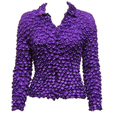 Wholesale Coin Style - Cardigan Royal Purple - One Size (S-XL)