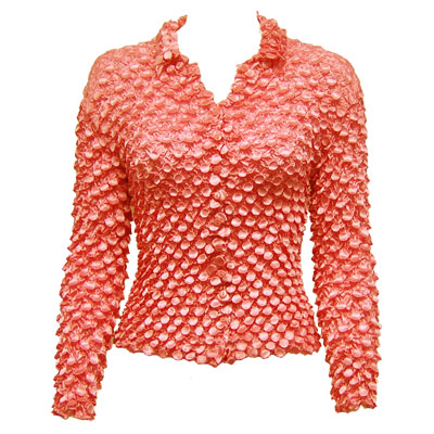 Wholesale Coin Style - Cardigan Vivid Tangerine - One Size (S-XL)