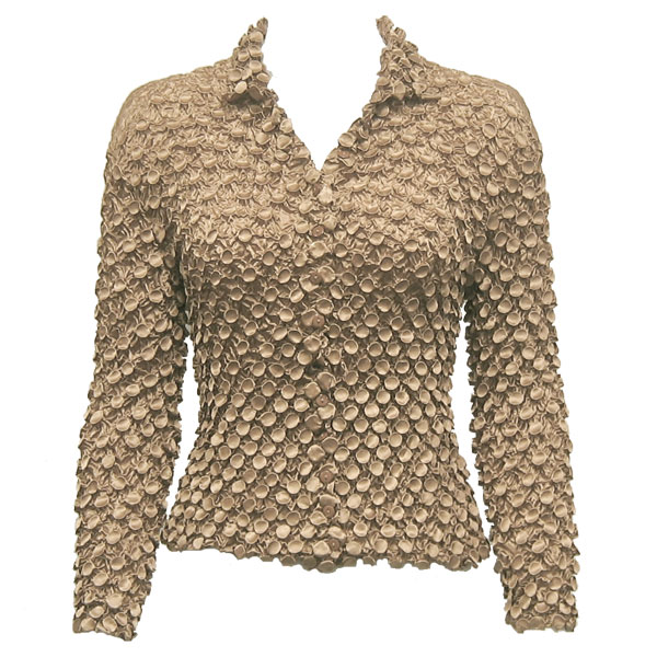 Wholesale Coin Style - Cardigan Champagne - One Size (S-XL)