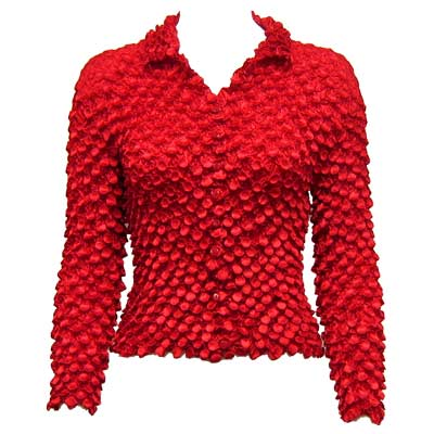 Wholesale Coin Style - Cardigan Red - One Size (S-XL)