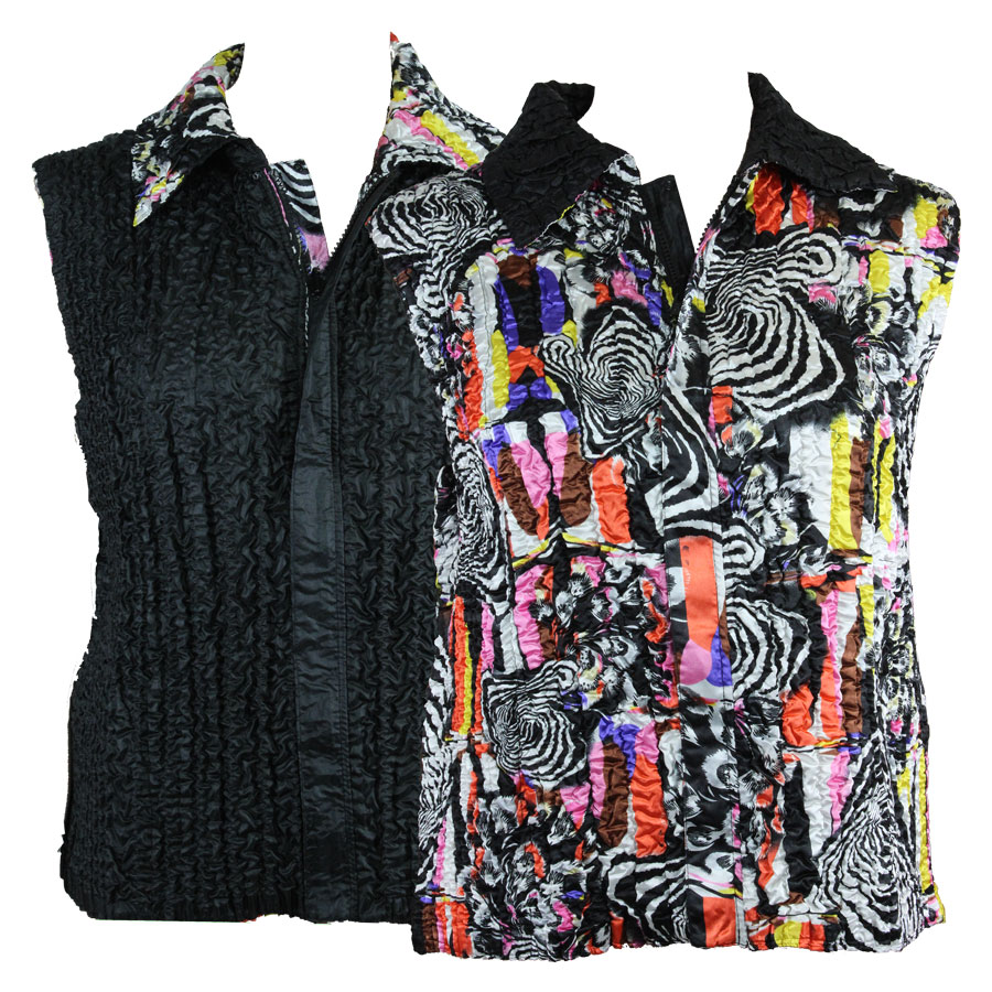 Quilted Reversible Vests - #14014