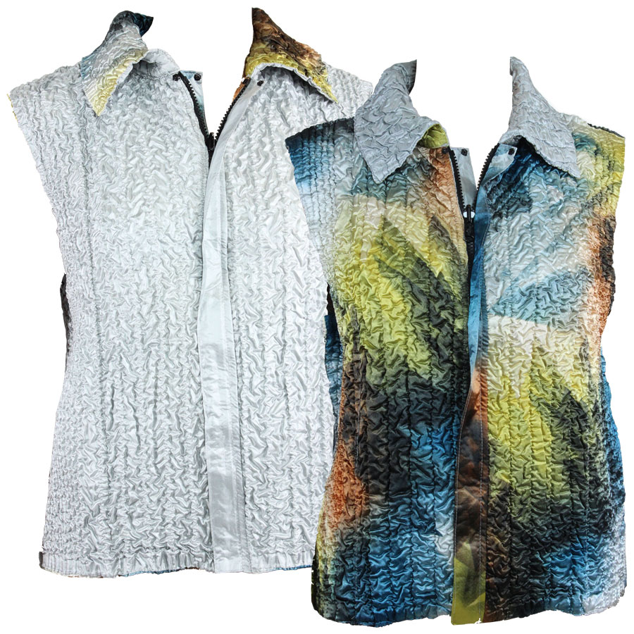Quilted Reversible Vests - #14004