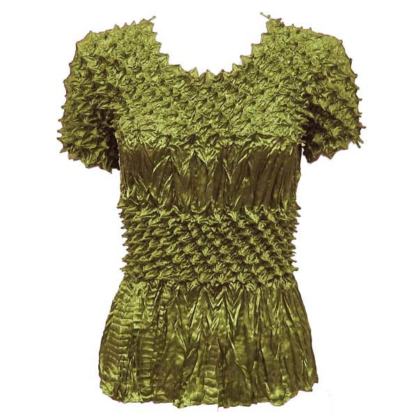 Wholesale Pineapple Spike - Short Sleeve Olive - One Size (S-XL)