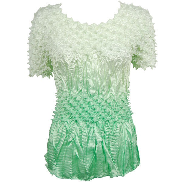 Wholesale Pineapple Spike - Short Sleeve Variegated Mint - One Size (S-XL)