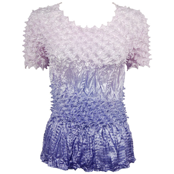 Wholesale Pineapple Spike - Short Sleeve Variegated Violet - One Size (S-XL)
