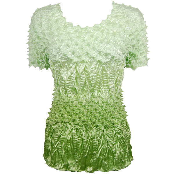 Wholesale Pineapple Spike - Short Sleeve Variegated Leaf Green - One Size (S-XL)