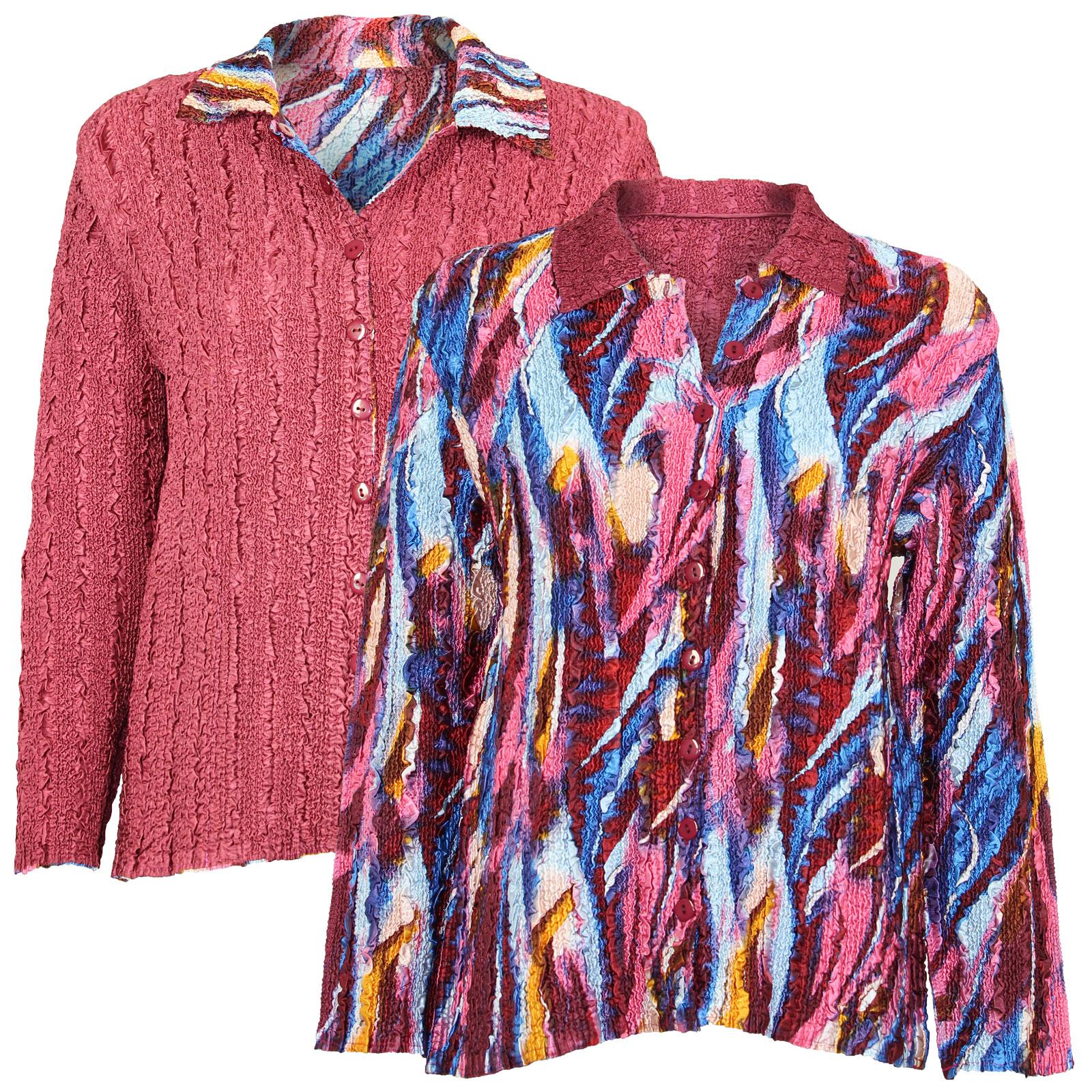 Wholesale Magic Crush - Reversible Jackets #14015 - 1X-2X
