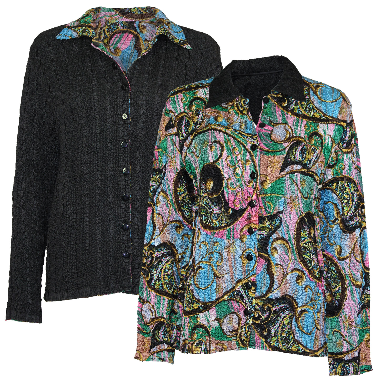 Wholesale Magic Crush - Reversible Jackets #14016 - 1X-2X