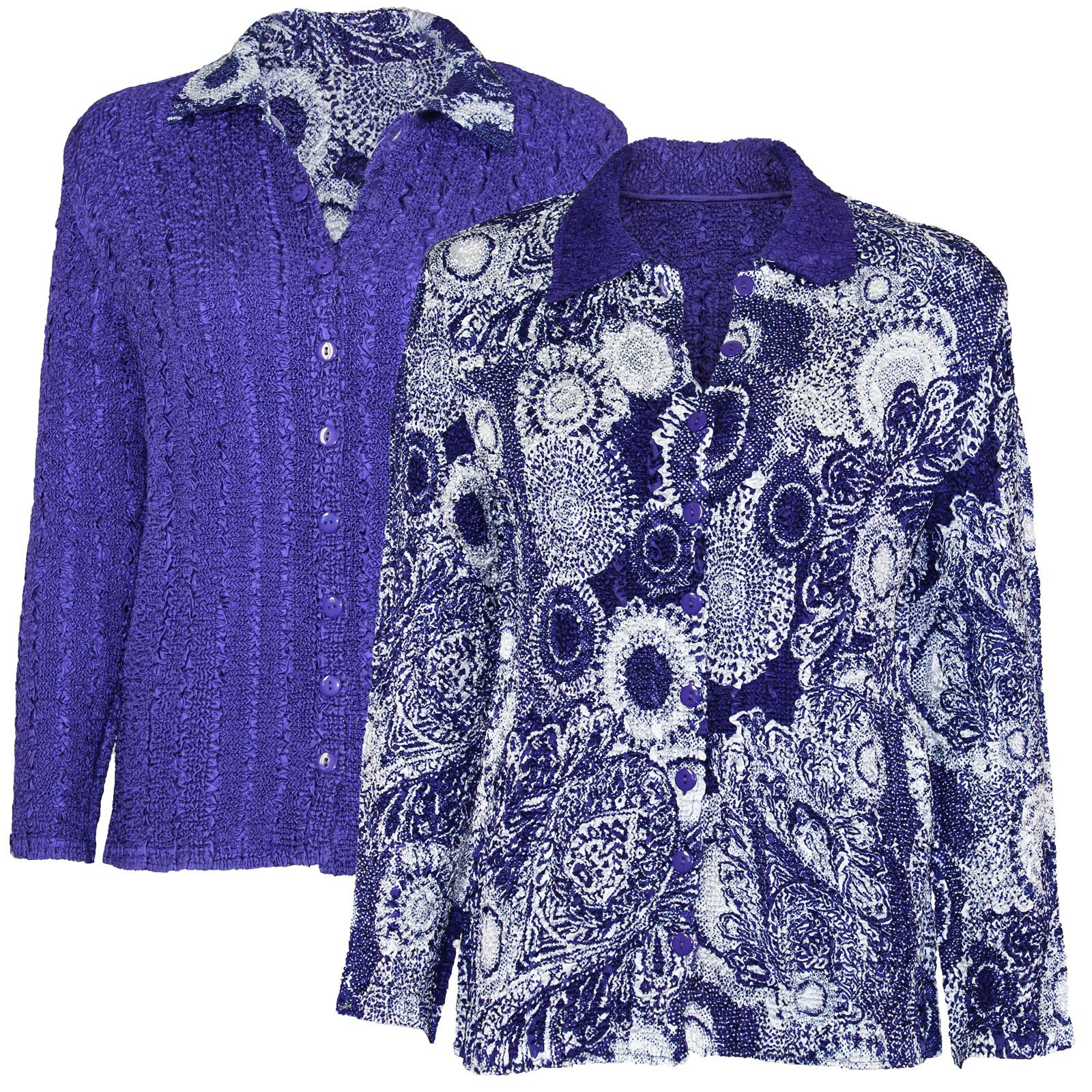 Wholesale Magic Crush - Reversible Jackets #14017 - 1X-2X