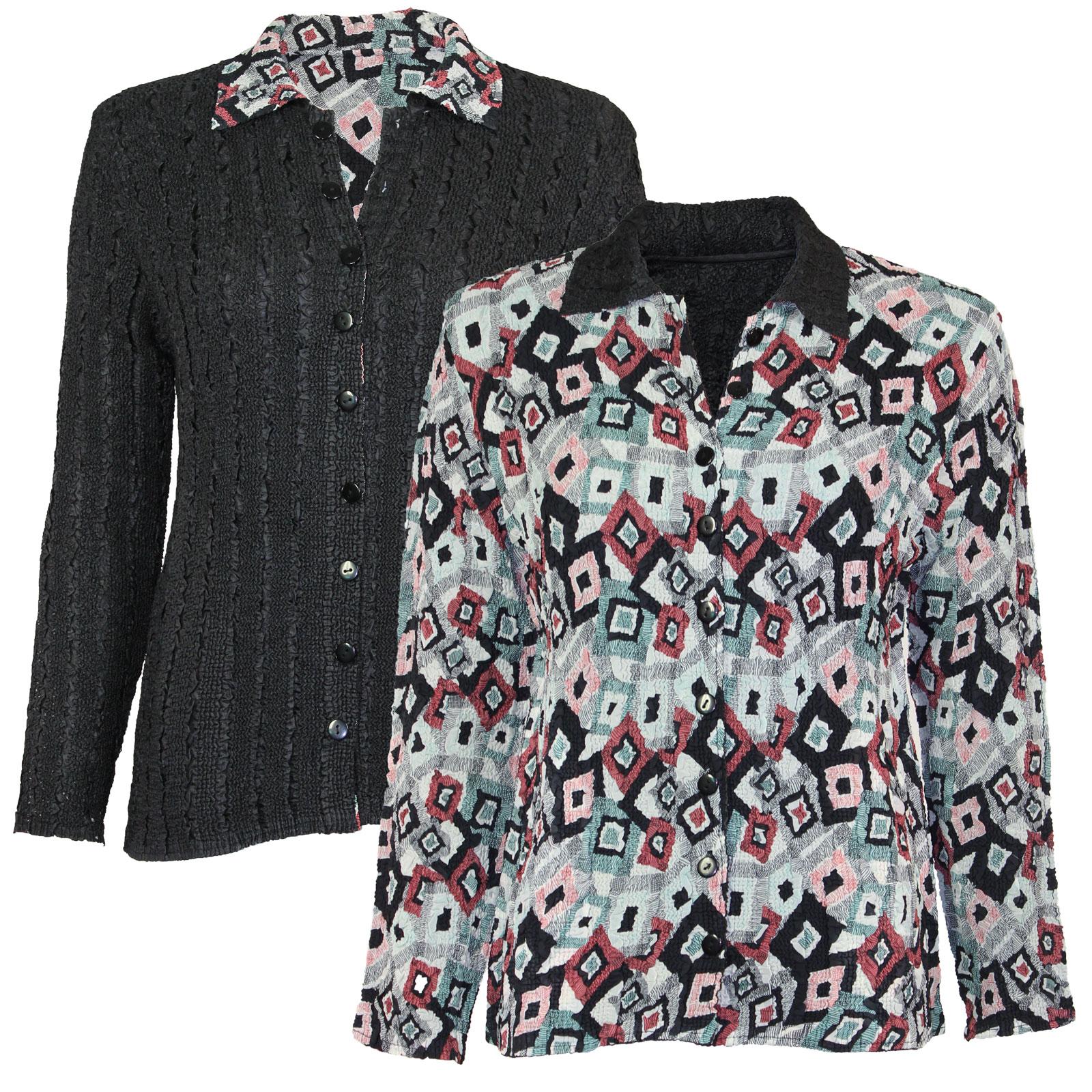 Wholesale Magic Crush - Reversible Jackets #3007 - 1X-2X