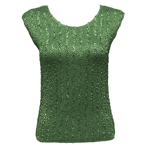 Wholesale Ultra Light Crush Silky Touch - Cap Sleeve* Solid Green - One Size (S-L)